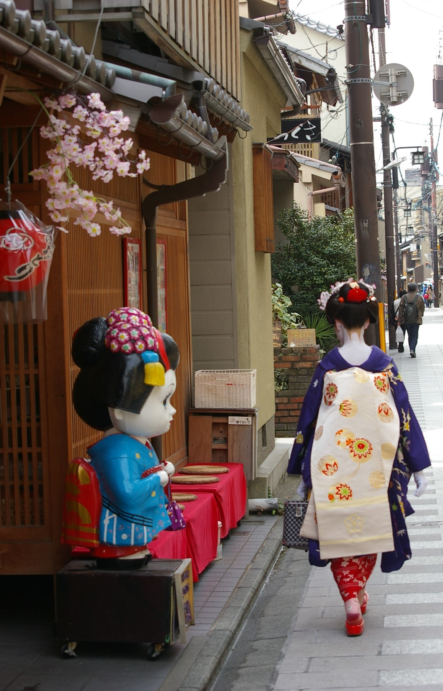 Geiko in The Gion