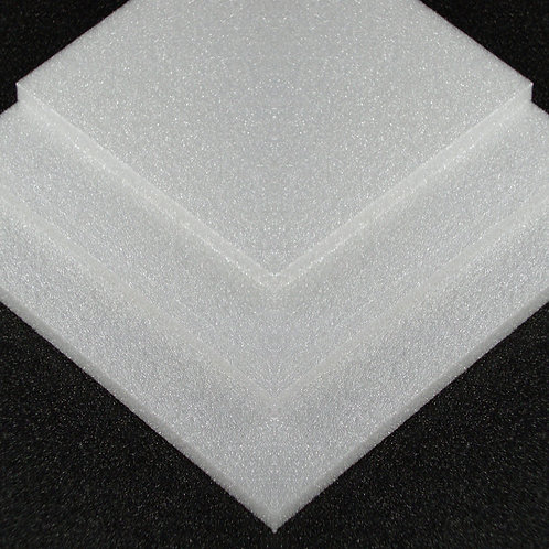 3mm White Depron 1000mm x 700mm 40 sheets