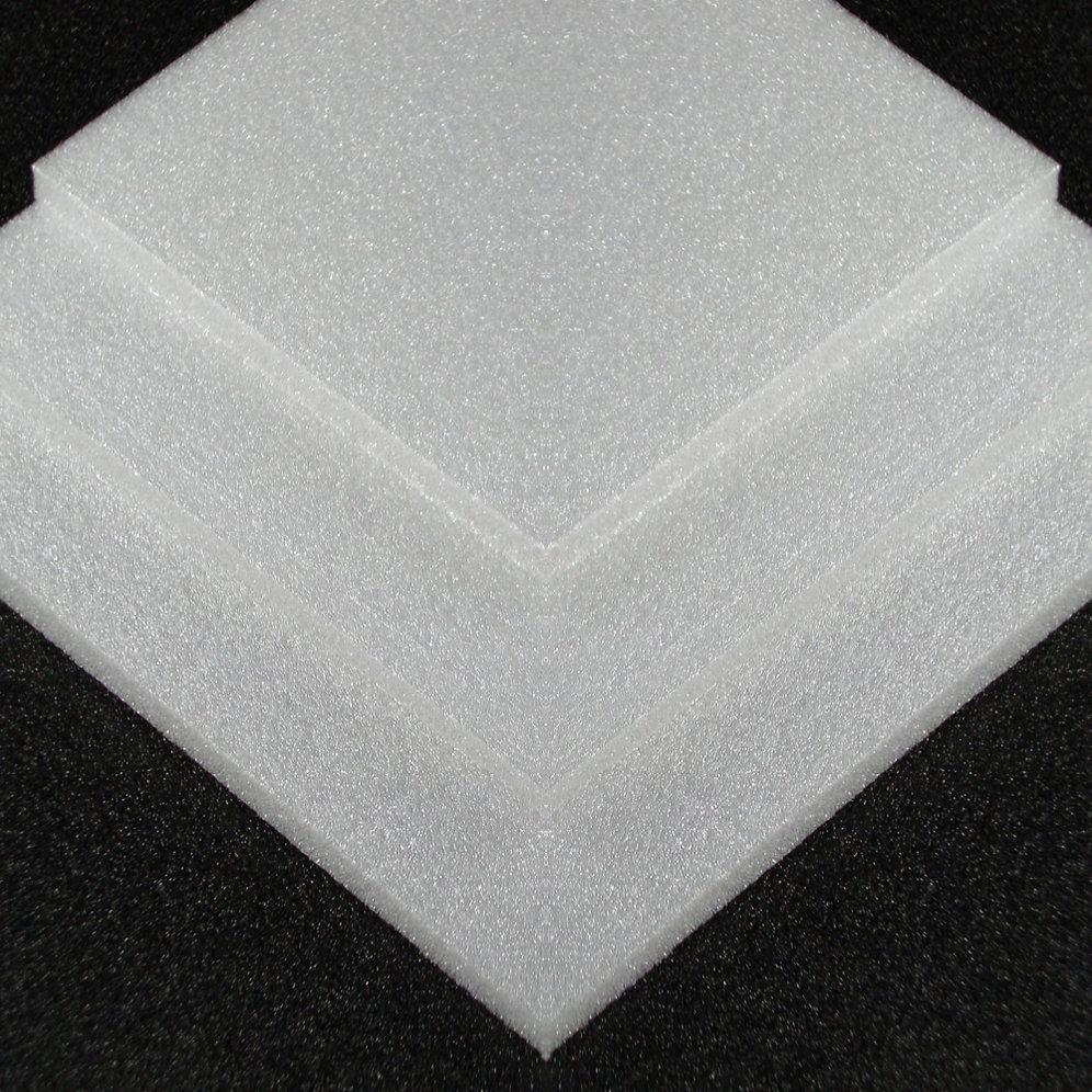3mm White Depron 1000mm x 700mm 40 sheets | handyheat