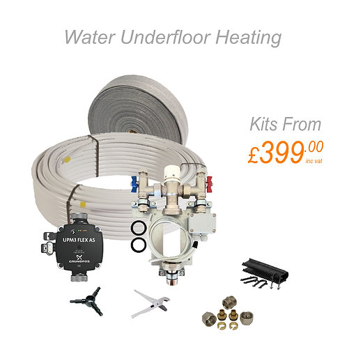 Single Zone Water Underfloor Heating up to 20m²