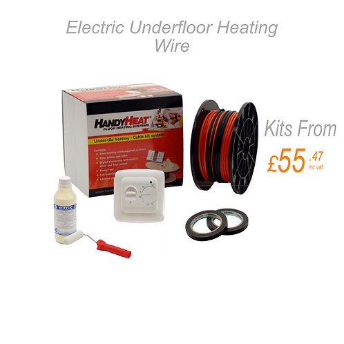 Under Tile Heating Wire Kit