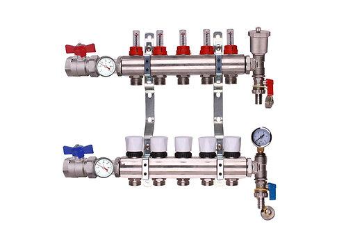 5 Port Underfloor Heating Manifold