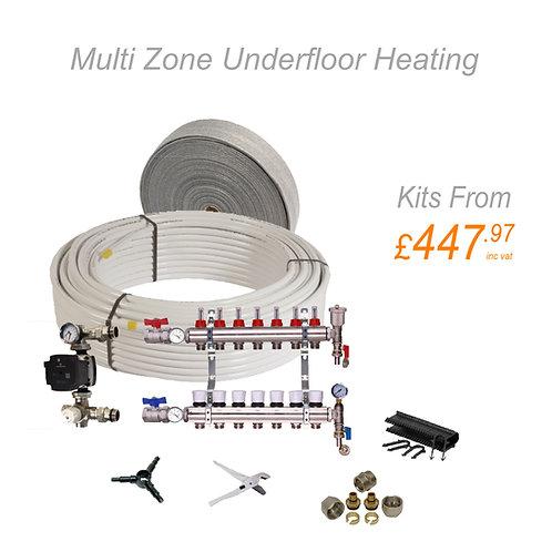 Multi Zone Water Underfloor Heating