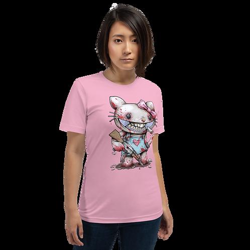 GOODBYE KITTY Short-Sleeve Unisex T-Shirt