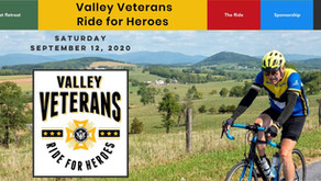 Valley Vets Ride 4 Heroes is getting ready for 2020 with a new website