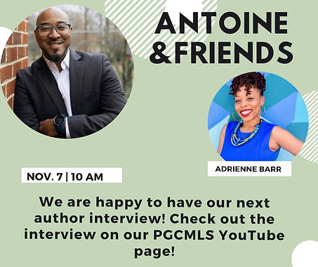 Antoine and Friends Interview and reading