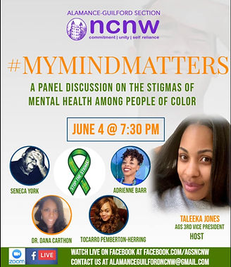 NCNW My Mind Matters Event