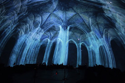 Ethereal est une installation immersive.
