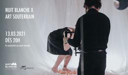 Le festival Art Souterrain s'invite à la Nuit Blanche ce samedi 20h!