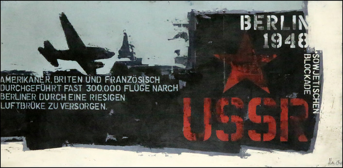 BERLIN - Sovietischen blockade