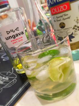 Un gin-tonic hellénique.