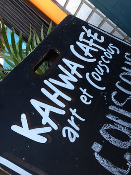 Le Kahwa Café - Repaire d'humoristes émergents.