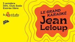 Le Grand Karaoké Jean Leloup