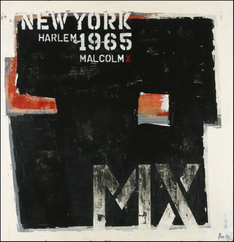 NEW YORK 1965 - Malcom X
