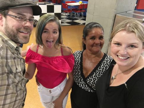 Shopping with Karen and Yolanda - February 2018
