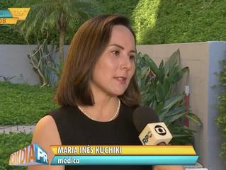 Médica da Cardio & Saúde fala sobre prevenção da gripe na Rede Globo