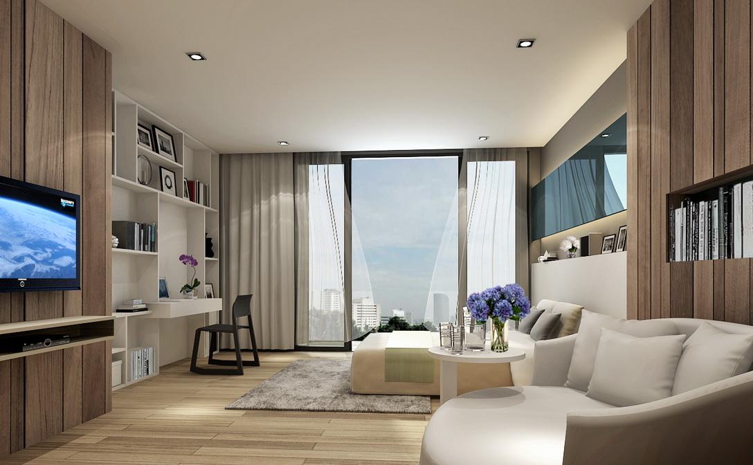 cover phuestate residence ratchadapisek 36งานออกแบบตกแต่งภายใน interior design
