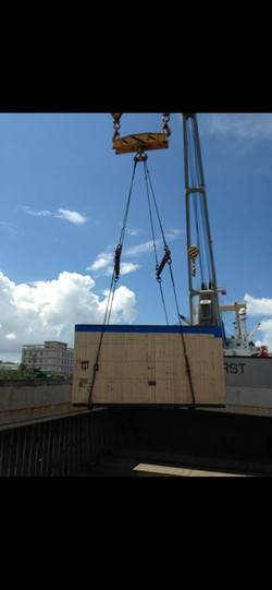 Sea Shipment Over Size