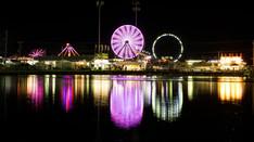 Carnival Rides Night   Time Lapse