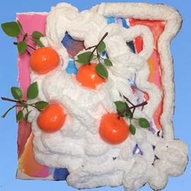 """""""Oranges in the snow"""" 🍊 ❄️"""