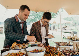 Tommer Catering BBQ The Bride Side