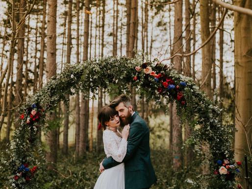 Styled Shoot: Barok in het Bos
