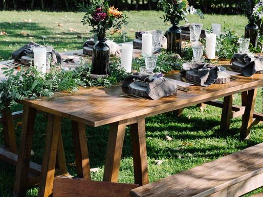 Styled shoot: Organic Wedding
