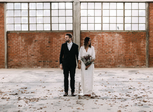 Styled shoot: Industrial Wedding