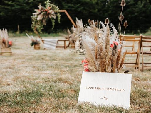 Trouwen op afstand in tijden van COVID19: zo organiseer je een 1,5 meter trouwfeest