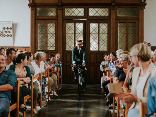 Breken met tradities op je trouwdag