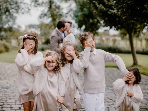 Hoe betrek je de kinderen bij jullie huwelijk?