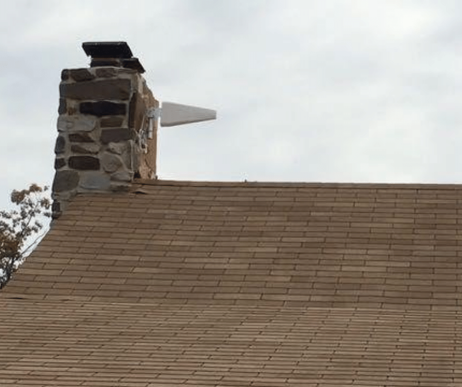 cell signal booster on chimney
