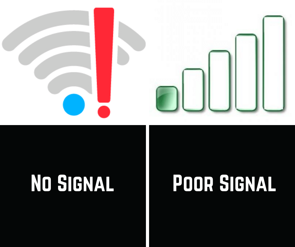 no signal graphic
