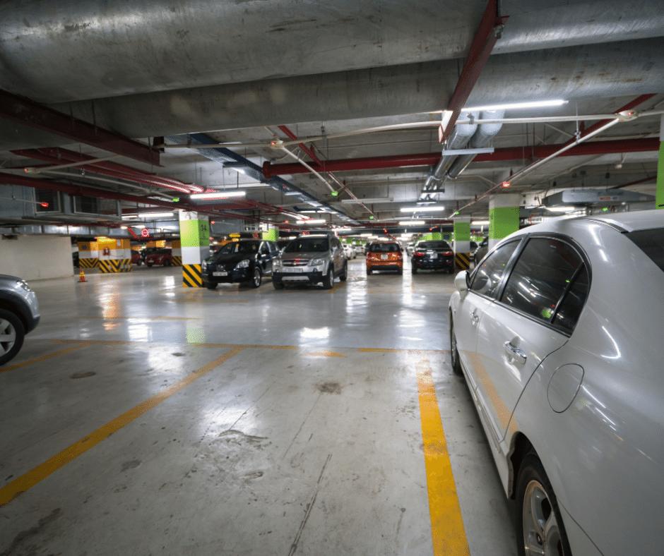 full parking garage
