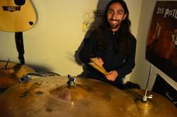 Ramin at practice
