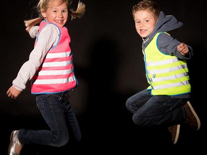 DE KIDS ZICHTBAAR EN SAFE MET WOWOW REFLECTIVE WEAR!