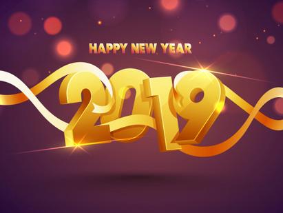 De beste wensen voor 2019!!