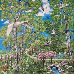 Hvem opfandt foråret, 60 x 80 cm, privateje