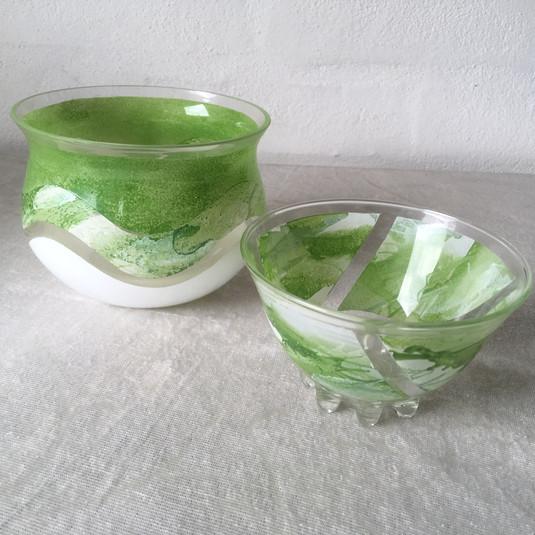 1 stk, den lille grønne skål