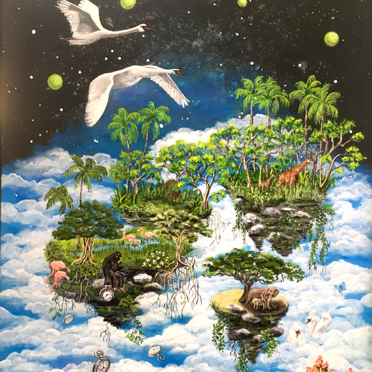 Dagdrømme om fred, 60 x 80, privateje
