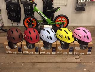 ヘルメットやBMXパーツ入荷