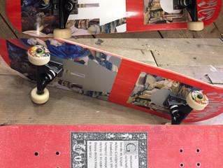 スケートボード組みました〜