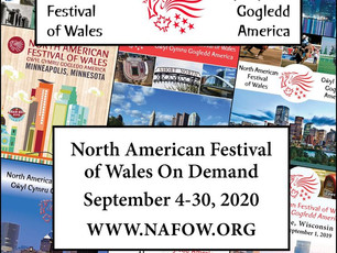 North American Festival of Wales ... Virtually !