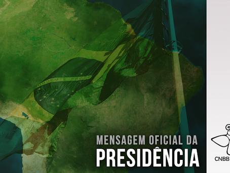 Presidente da CNBB divulga mensagem para o Dia da Pátria