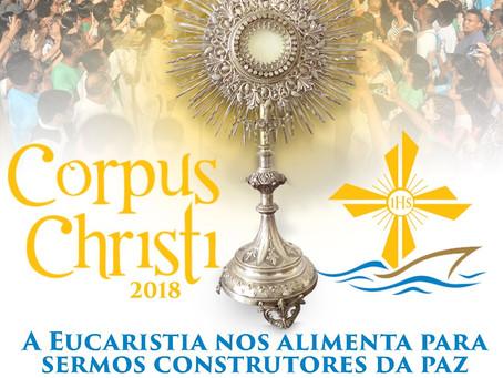 Corpus Christi, a festa do Pão do Céu