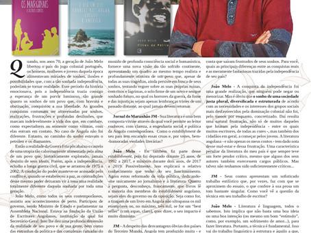 Especial Literaturas em língua portuguesa: João Melo