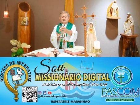 """Cultura """"Missionários Digitais"""" na Diocese de Imperatriz"""