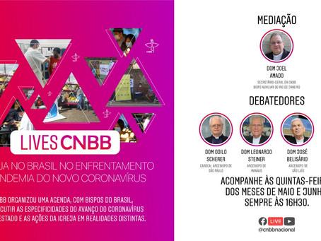 Bispo do Regional participa de live com bispos do Brasil