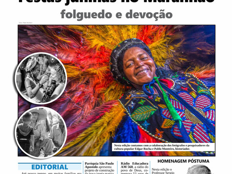 Jornal do Maranhão, edição de junho