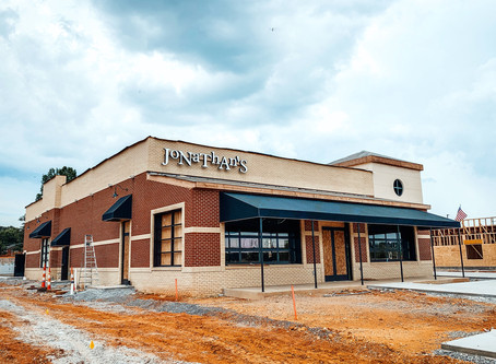 JONATHAN'S GRILLE TO OPEN IN EAST RIDGE OCTOBER